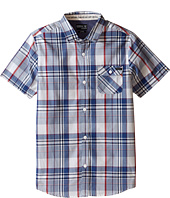 O'Neill Kids - Emporium Plaid Short Sleeve Woven Top (Big Kids)