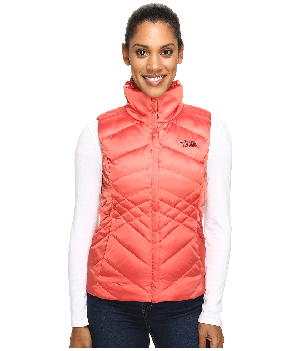 The North Face - Aconcagua Vest (Spiced Coral) Women