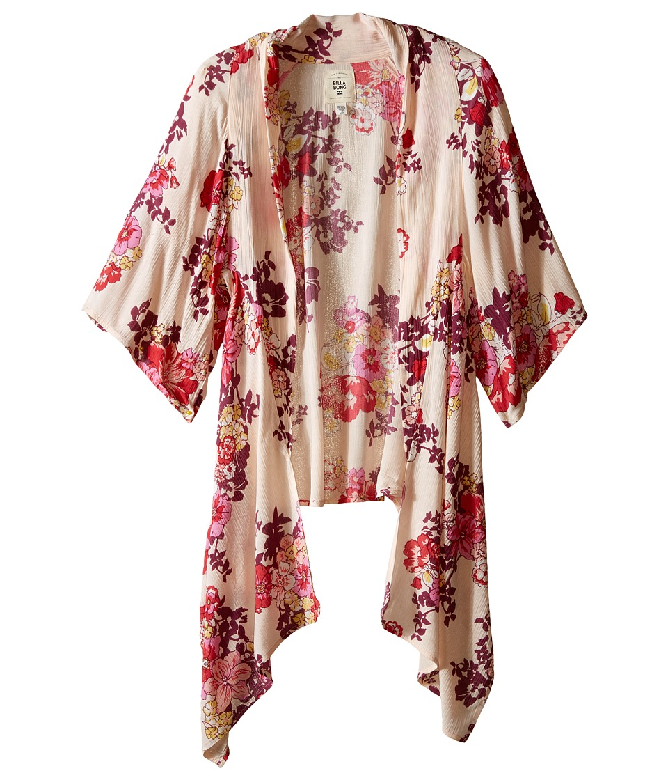 Billabong Kids Endless Seas Kimono Little Kids/Big Kids Blush Girls Clothing