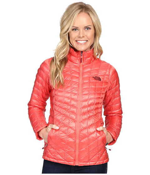 The North Face ThermoBall™ Full Zip Jacket - Spiced Coral