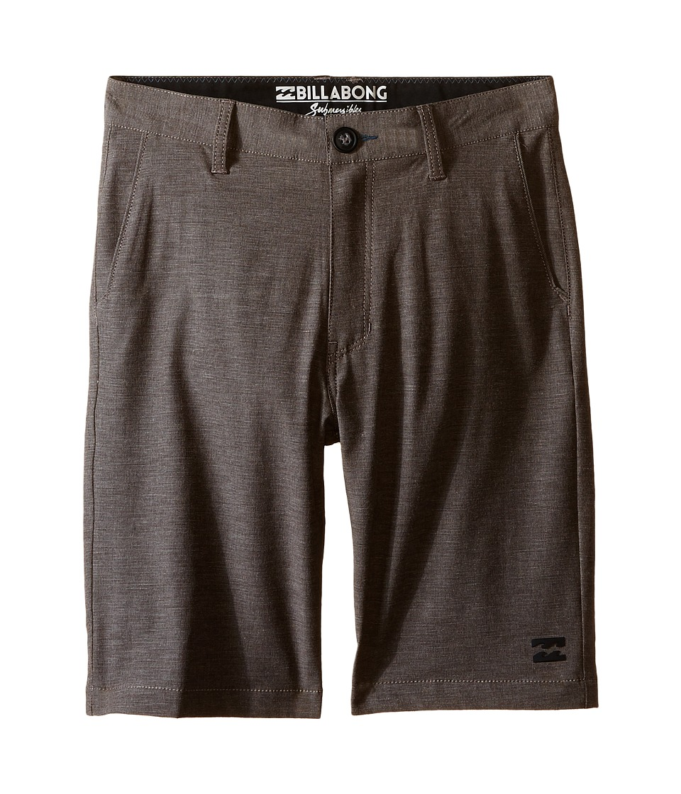 Billabong Kids Crossfire X Shorts Big Kids Earth Boys Shorts