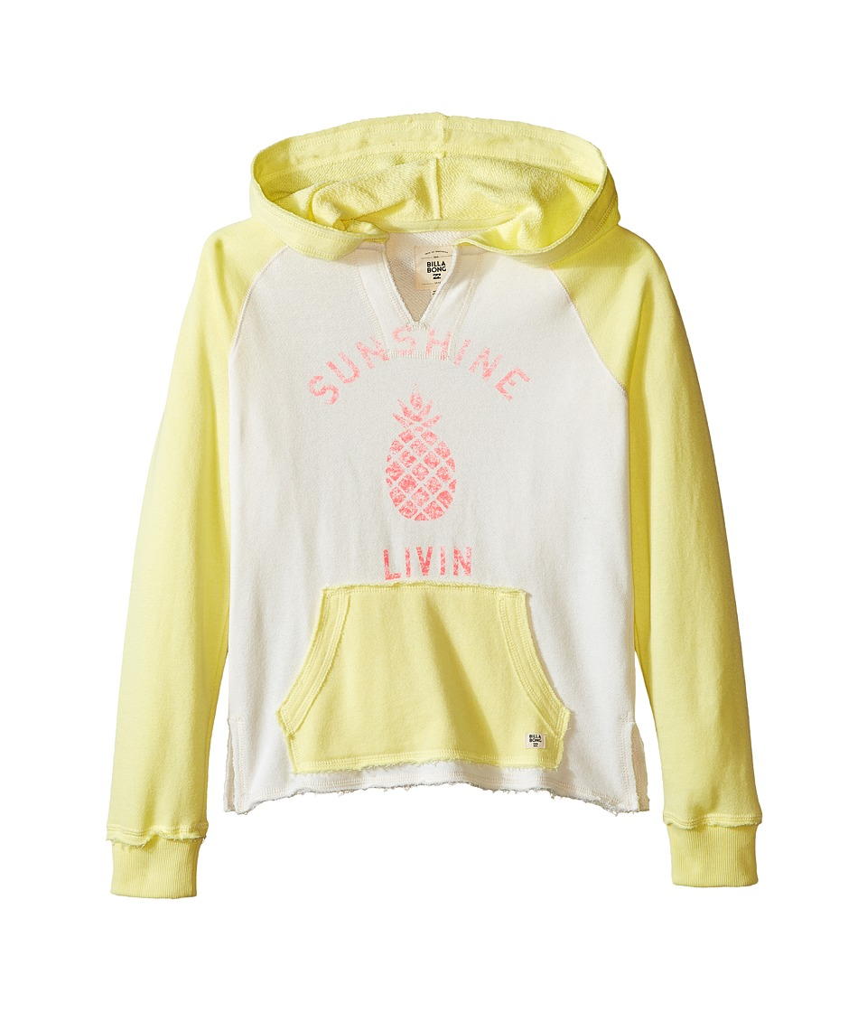 Billabong Kids Day Away Hoodie Little Kids/Big Kids Pineapple Girls Sweatshirt