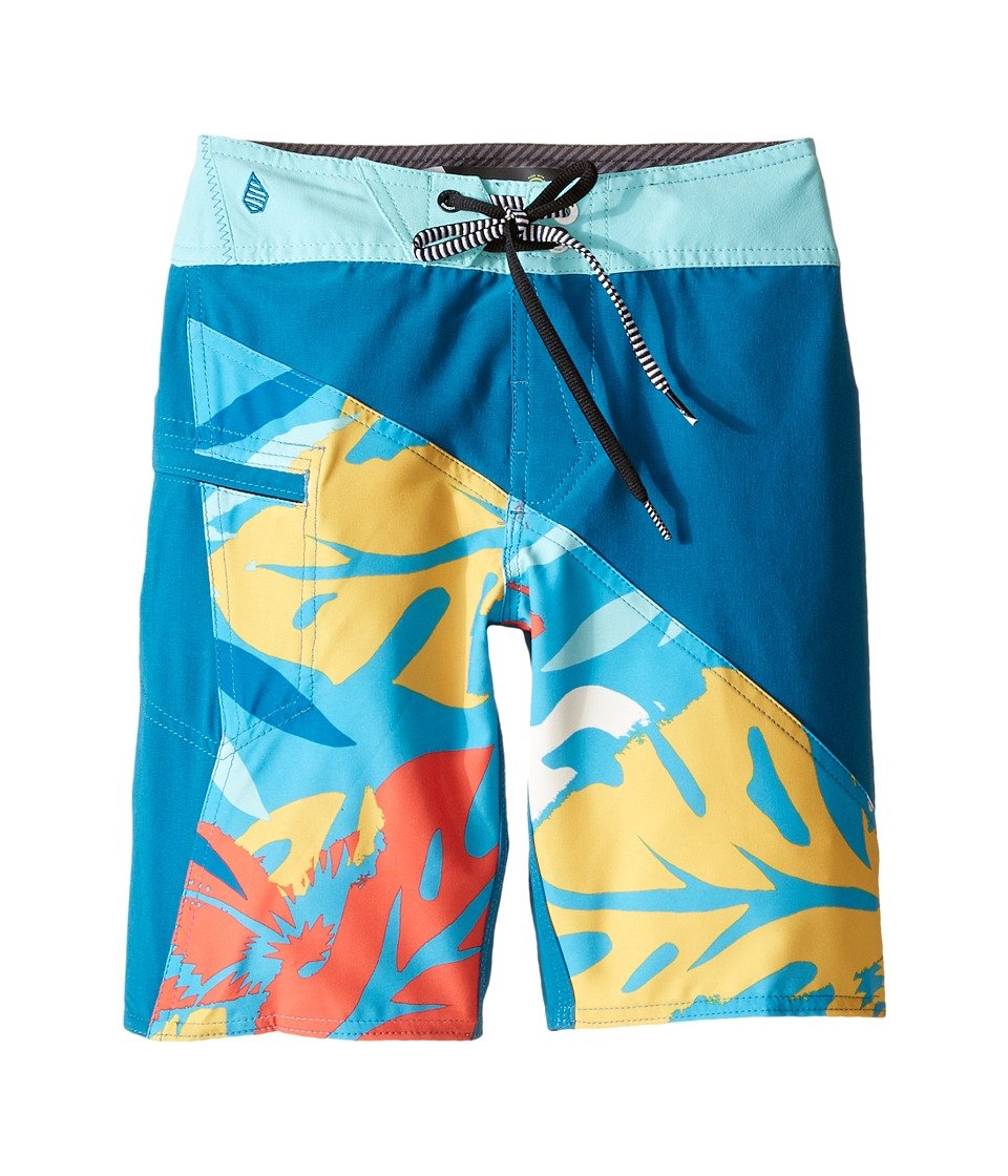Volcom Kids Liberation Mod Boardshorts Big Kids Bright Marine Boys Swimwear