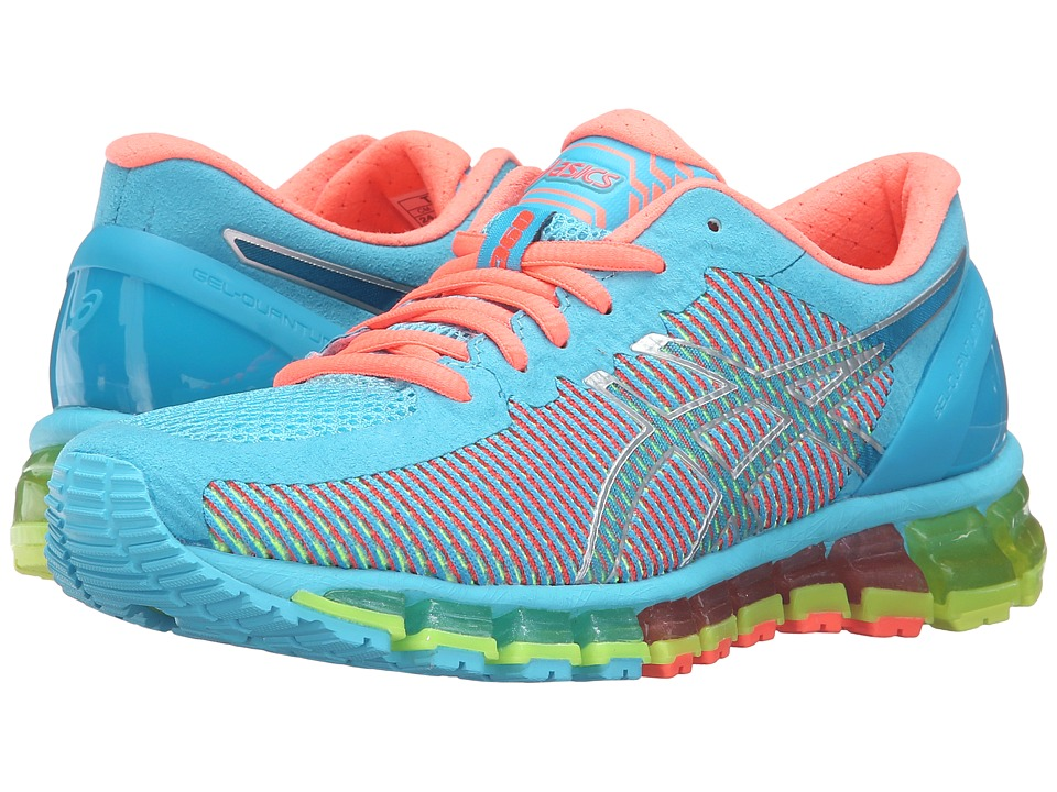 ASICS - Gel-Quantum 360 CM (Aquarium/White/Flash Coral) Women