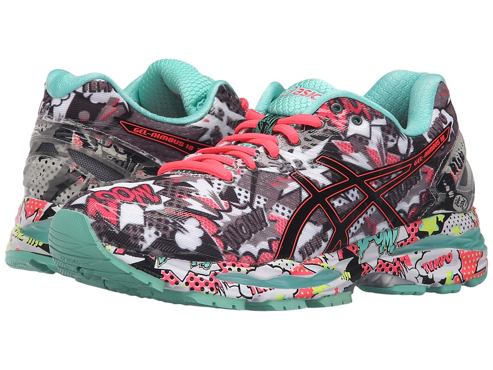 ASICS Gel-Nimbus 18 (Carbon/Black/Cockatoo) Women