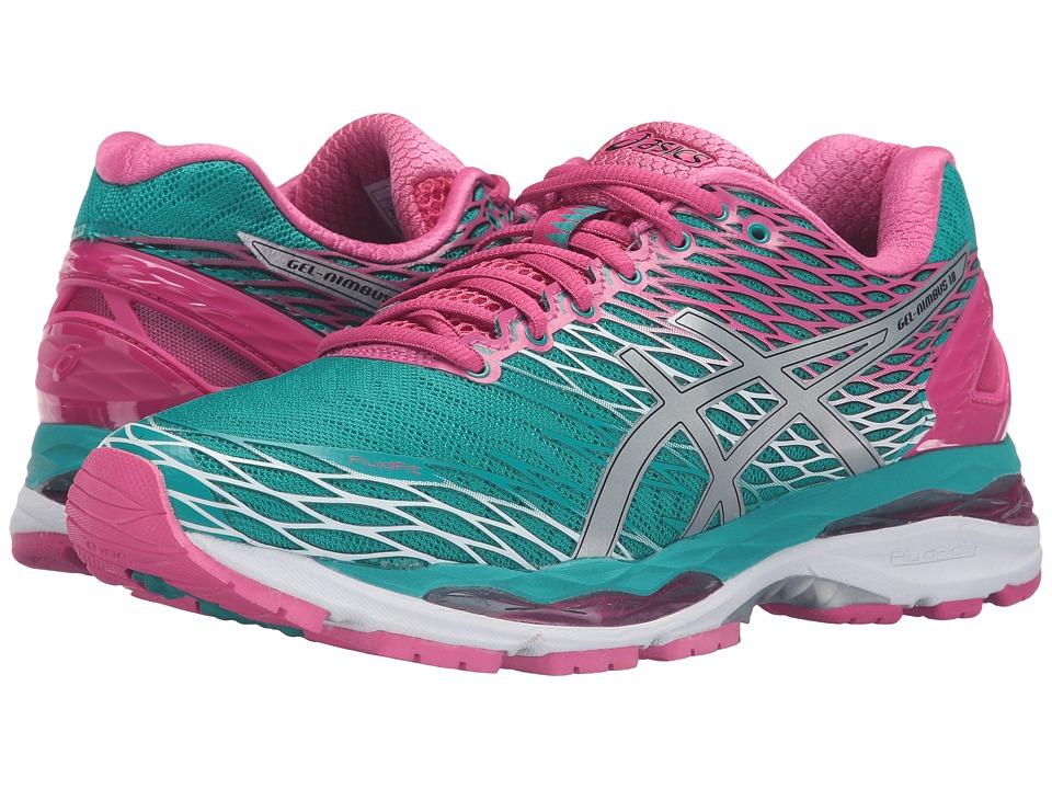 ASICS Gel-Nimbus 18 (Lapis/Silver/Sport Pink) Women