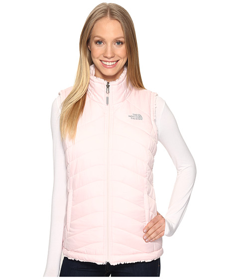 The North Face Mossbud Swirl Reversible Vest - Purdy Pink