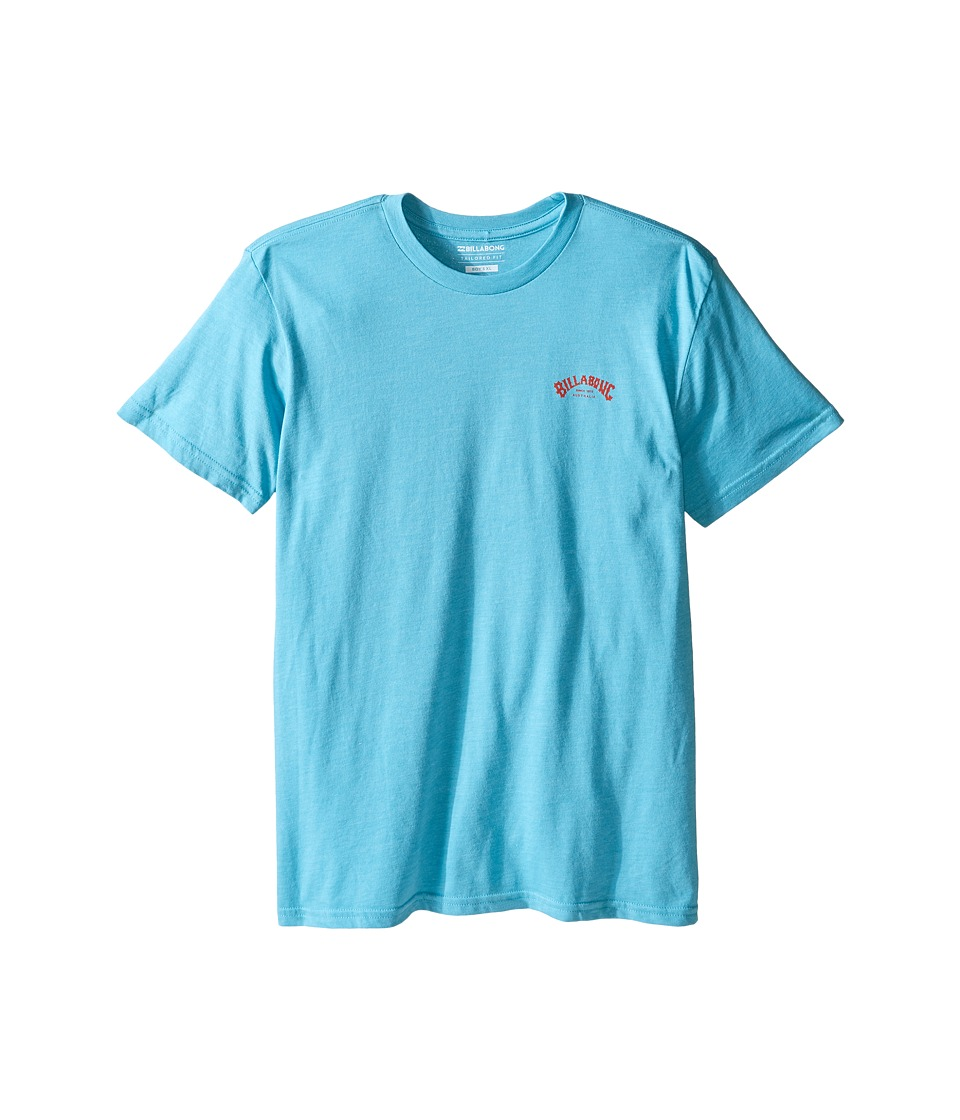 Billabong Kids - Arch T-Shirt (Big Kids) (Aqua Heather) Boy