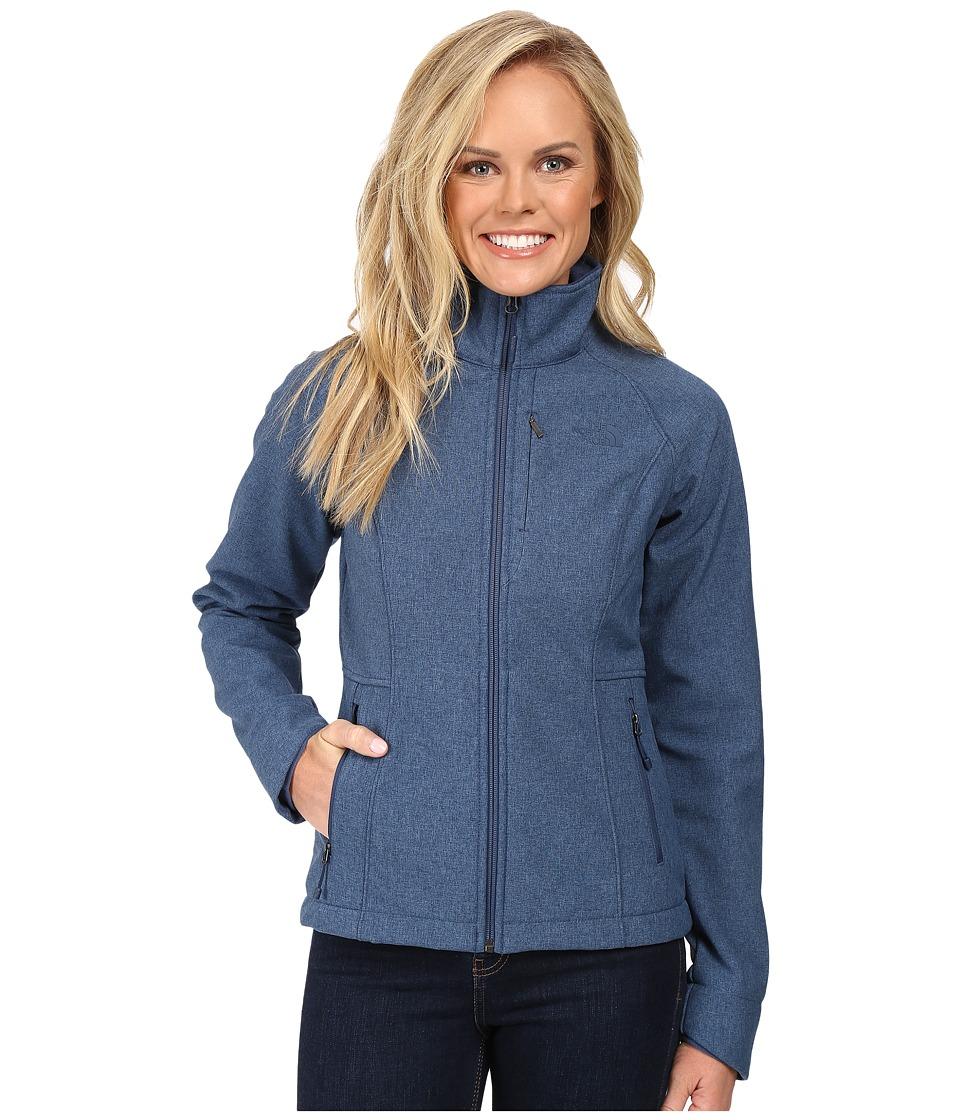 The North Face Apex Bionic Jacket (Shady Blue Heather (Prior Season)) Women