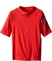 Volcom Kids - Solid Short Sleeve Top (Big Kids)