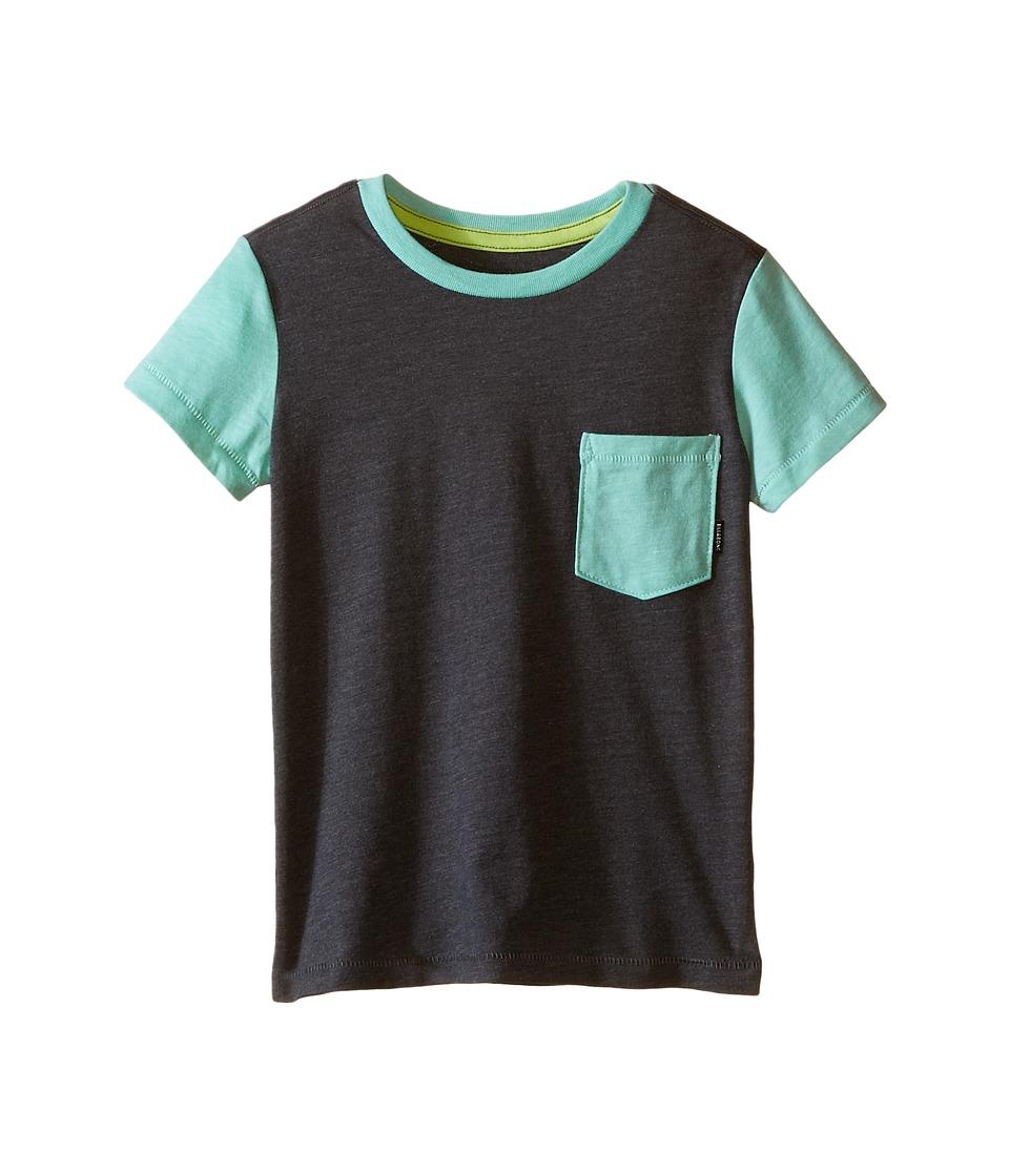 Billabong Kids - Zenith Short Sleeve Crew (Toddler/Little Kids) (Dark Grey Heather) Boy