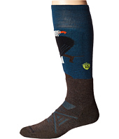 Smartwool - PhD Ski Medium: Charley Harper Glacial Bay Eagle
