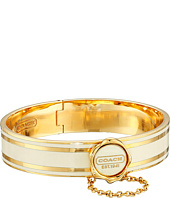 COACH - Enamel Hinged Bangle
