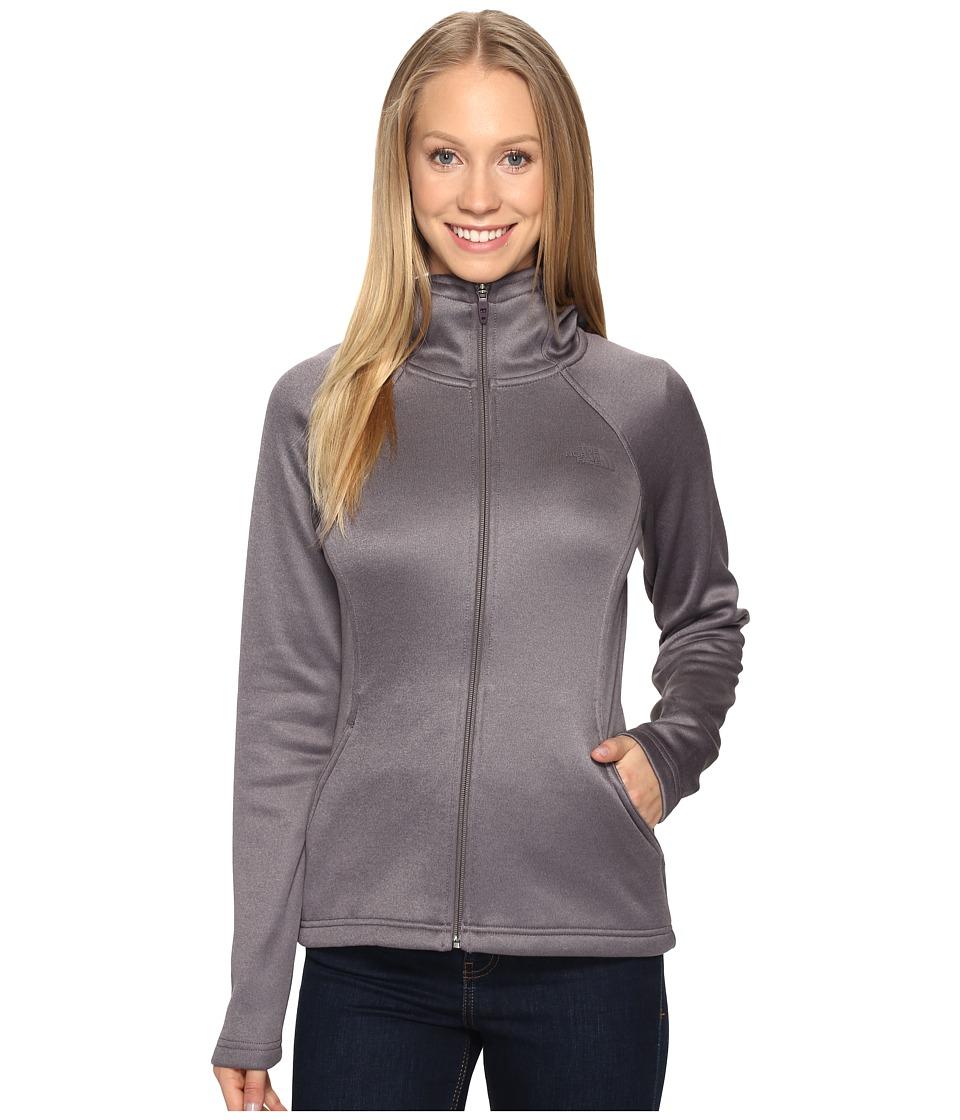The North Face Agave Hoodie (Rabbit Grey Heather (Prior Season)) Women