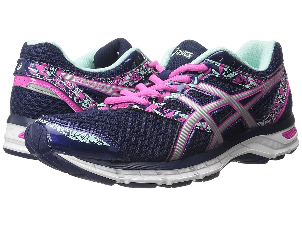 ASICS - Gel-Excite 4 (Blue Print/Silver/Mint) Women