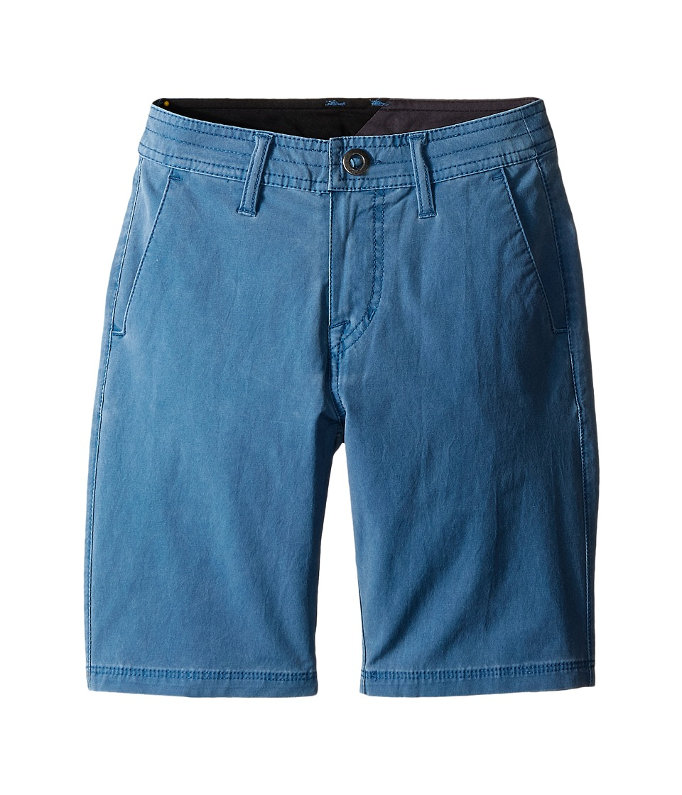 Volcom Kids SNT Faded Shorts Big Kids Sun Faded Indigo Boys Shorts