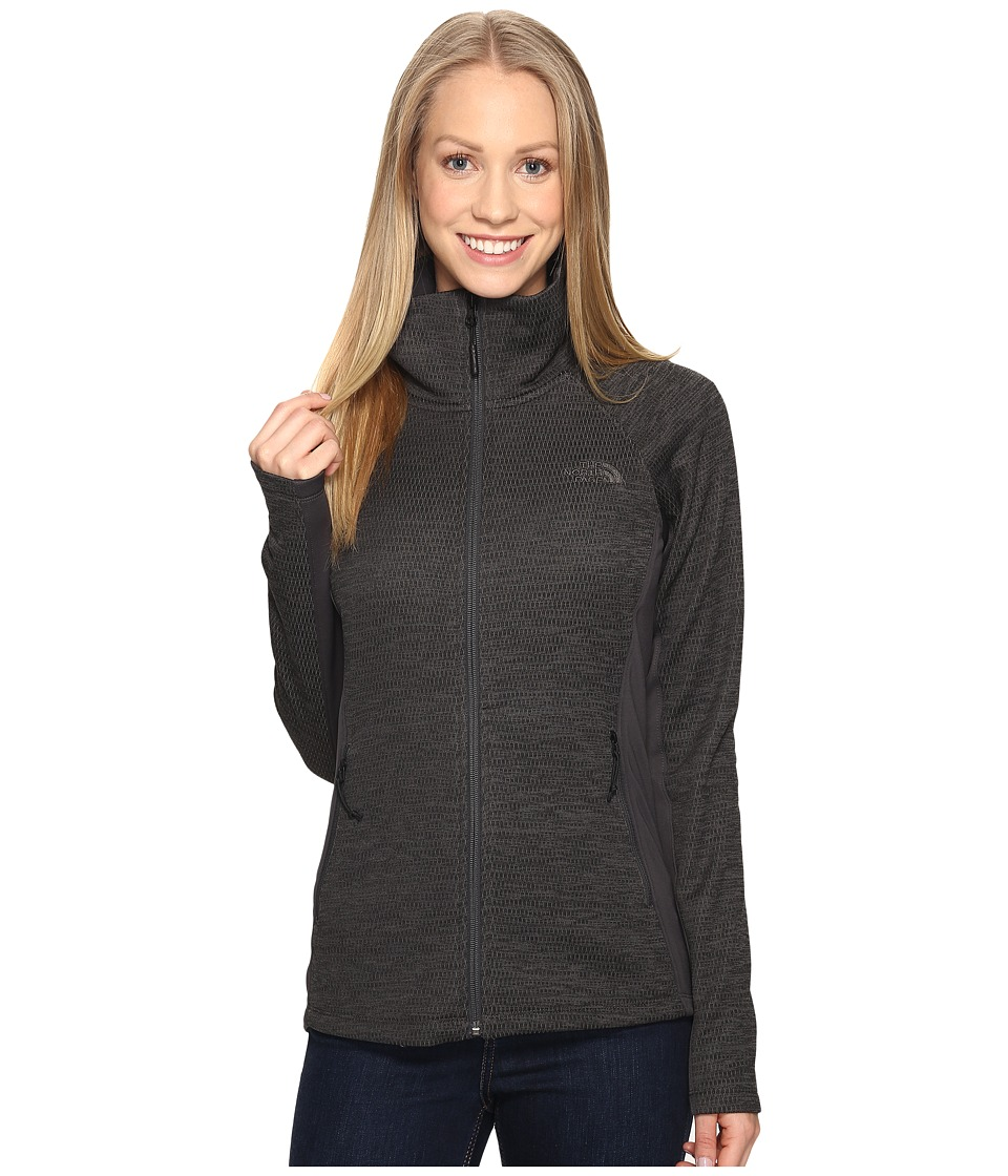 The North Face Arcata Full Zip (Asphalt Grey Heather/Asphalt Grey) Women