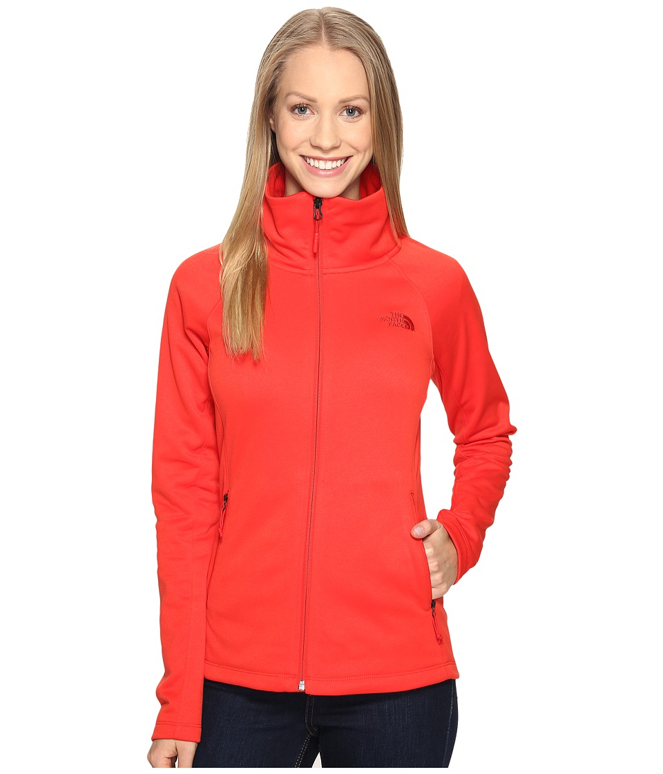 The North Face Arcata Full Zip (High Risk Red (Prior Season)) Women