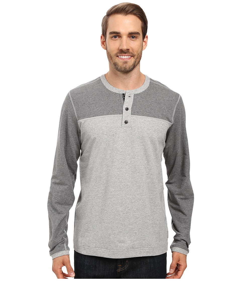 Mountain Hardwear - Cragger Henley (Heather Steam) Men