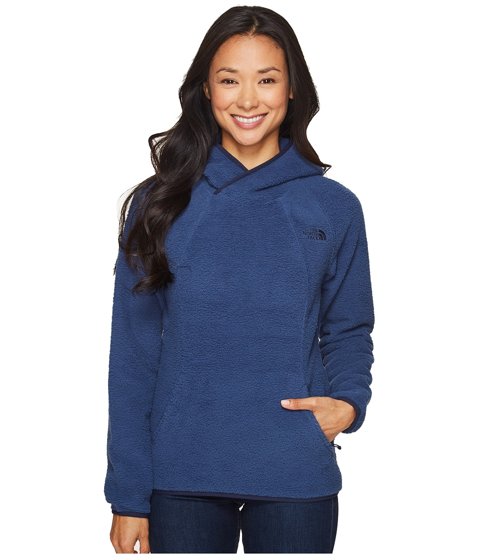 The North Face Sherpa Pullover (Shady Blue) Women