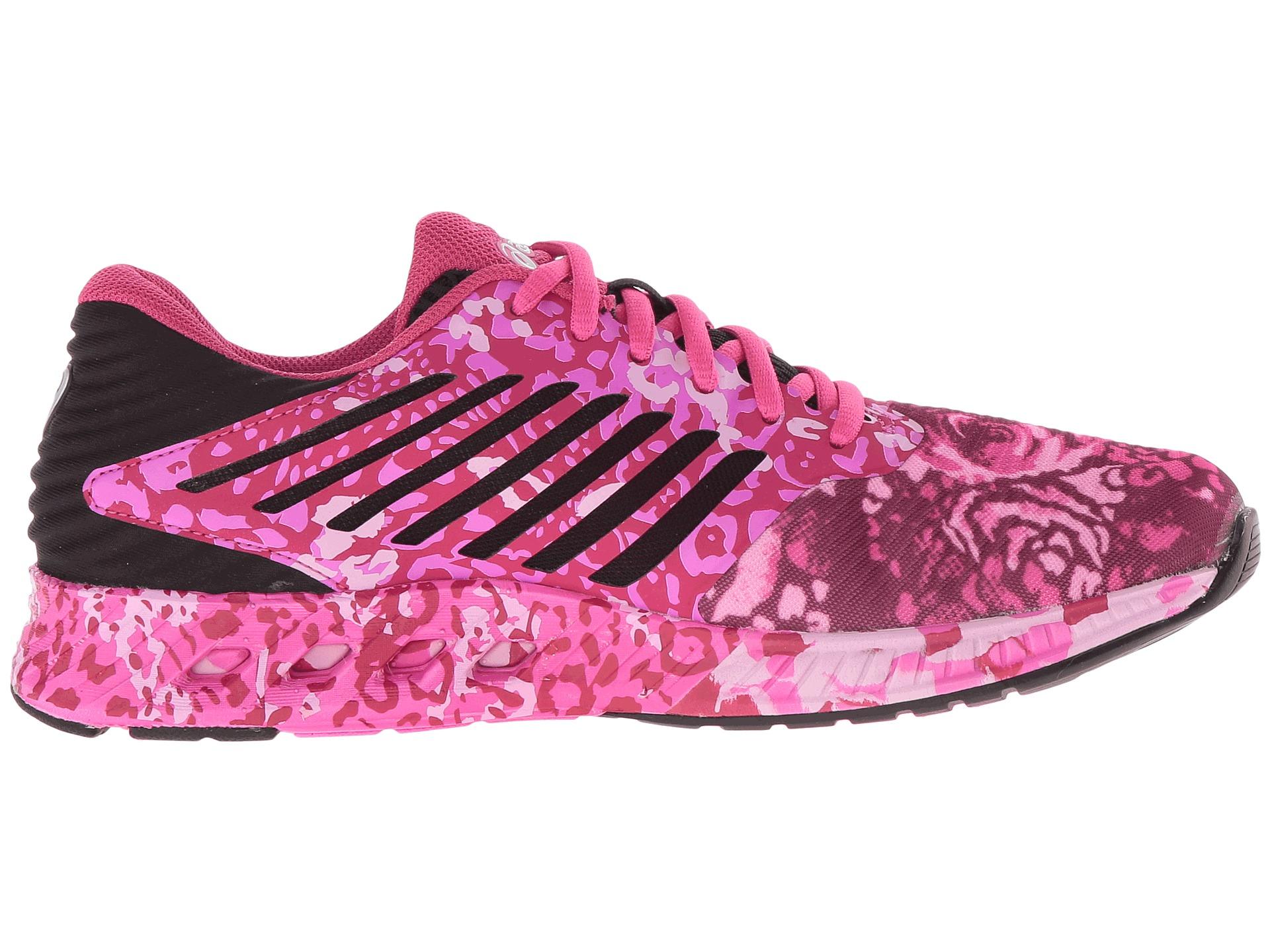 asics fuzex pr pink glow white pink ribbon zappos