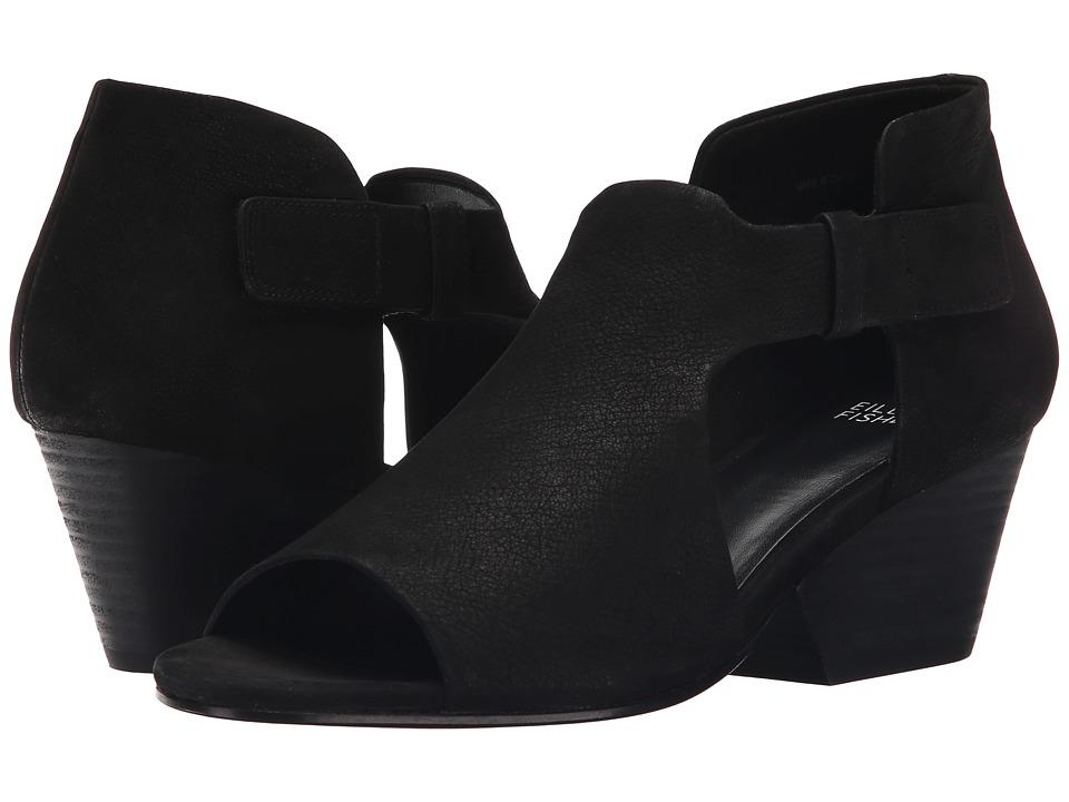 Eileen Fisher Iris (Black) Women's 1-2 inch heel Shoes