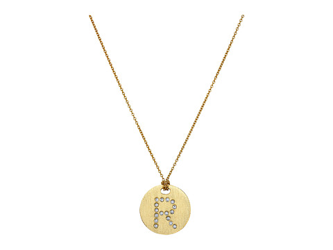 Roberto Coin Tiny Treasures 18K Yellow Gold Initial R Pendant Necklace - Yellow Gold