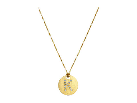 Roberto Coin Tiny Treasures 18K Yellow Gold Initial K Pendant Necklace - Yellow Gold
