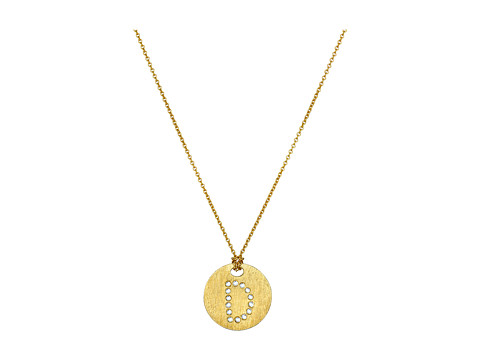 Roberto Coin Tiny Treasures 18K Yellow Gold Initial D Pendant Necklace - Yellow Gold
