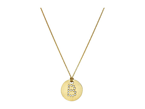 Roberto Coin Tiny Treasures 18K Yellow Gold Initial B Pendant Necklace - Yellow Gold