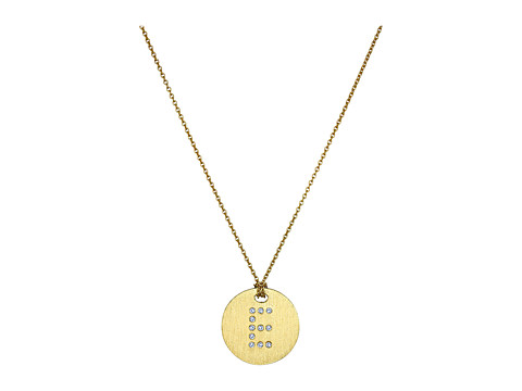 Roberto Coin Tiny Treasures 18K Yellow Gold Initial E Pendant Necklace - Yellow Gold