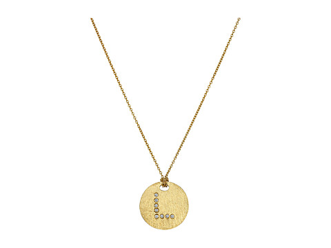Roberto Coin Tiny Treasures 18K Yellow Gold Initial L Pendant Necklace