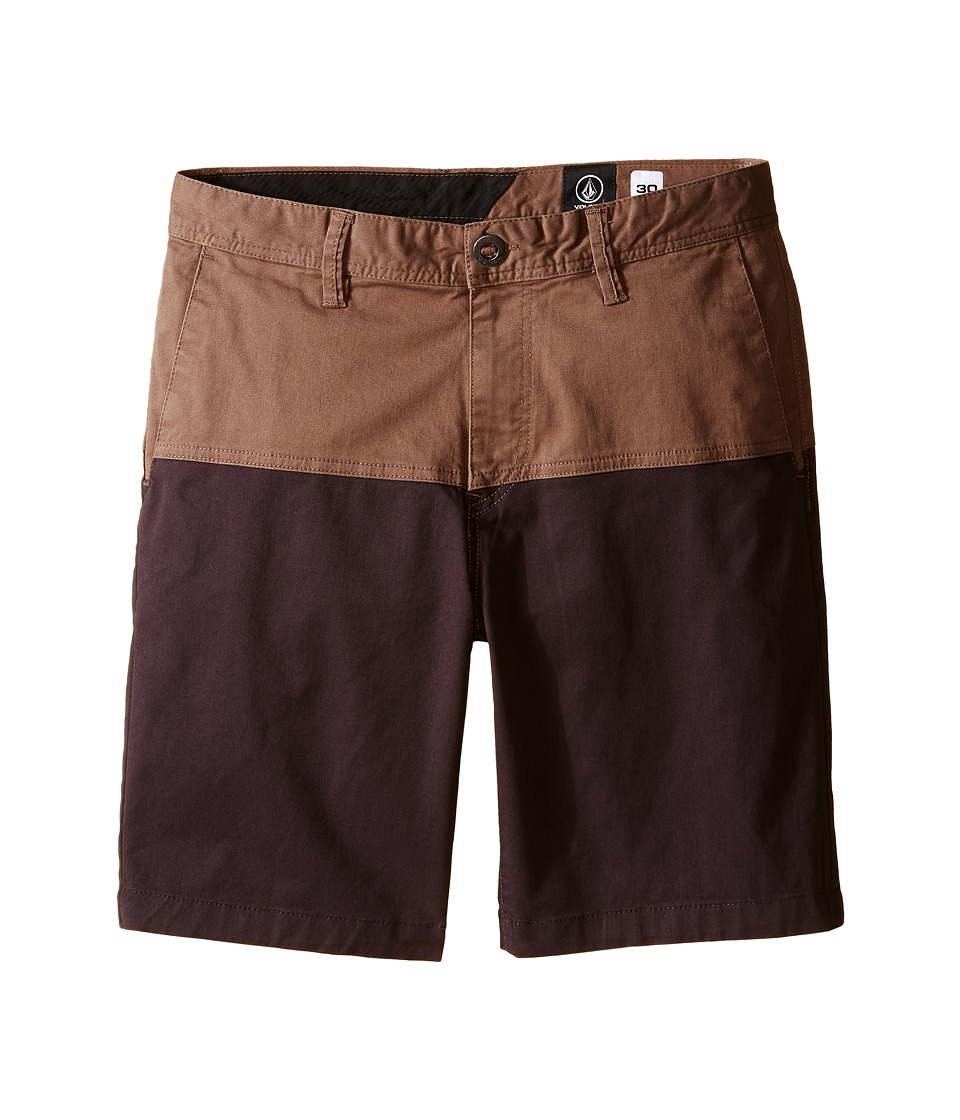Volcom Kids Baden Shorts Big Kids Mushroom Boys Swimwear