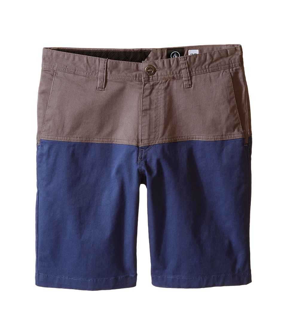 Volcom Kids Baden Shorts Big Kids Pewter Boys Swimwear