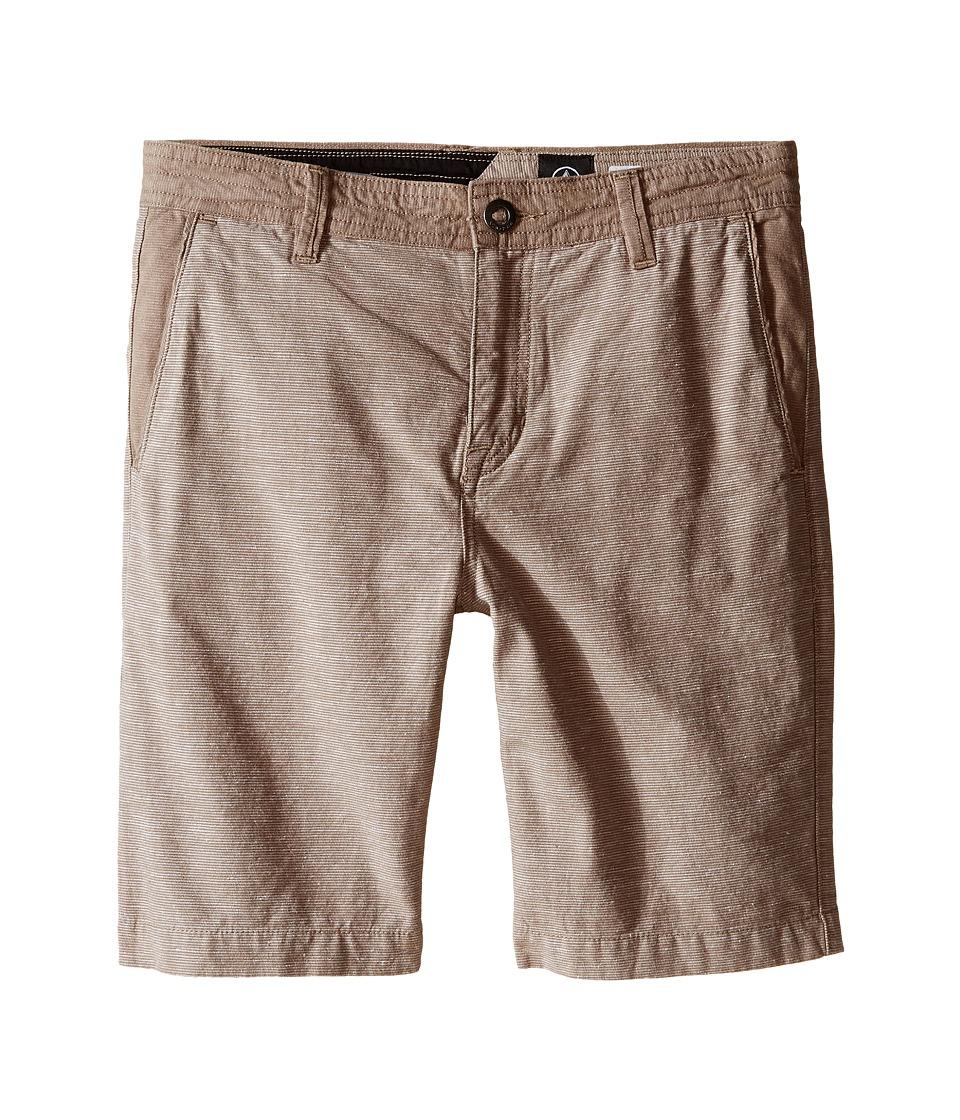 Volcom Kids Powell Shorts Big Kids Beige Boys Shorts