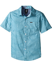 Volcom Kids - Bayfield Short Sleeve Woven Top (Big Kids)