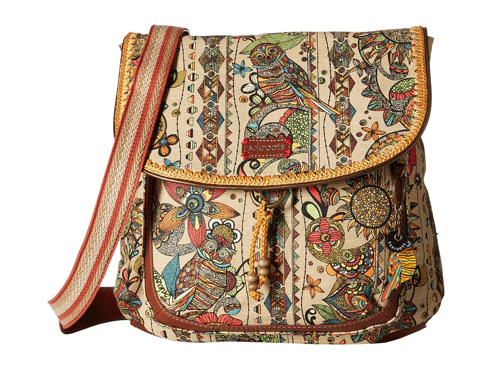 Sakroots - Artist Circle Convertible Backpack (Camel Spirit Desert) Backpack Bags