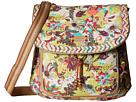 Sakroots Artist Circle Convertible Backpack (Citrus Xen Garden)