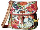 Sakroots Artist Circle Convertible Backpack (Seafoam Flower Power)
