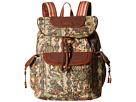 Sakroots Sakroots Artist Circle Flap Backpack (Camel Spirit Desert)