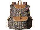 Sakroots Sakroots Artist Circle Flap Backpack (Sterling Spirit Desert)