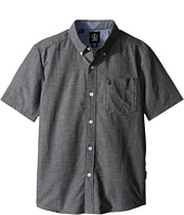 Volcom Kids - Everett Oxford Short Sleeve Top (Little Kids/Big Kids)