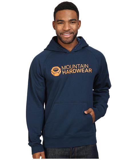 Mountain Hardwear Logo Graphic Pullover Hoodie - Hardwear Navy/Dark Copper