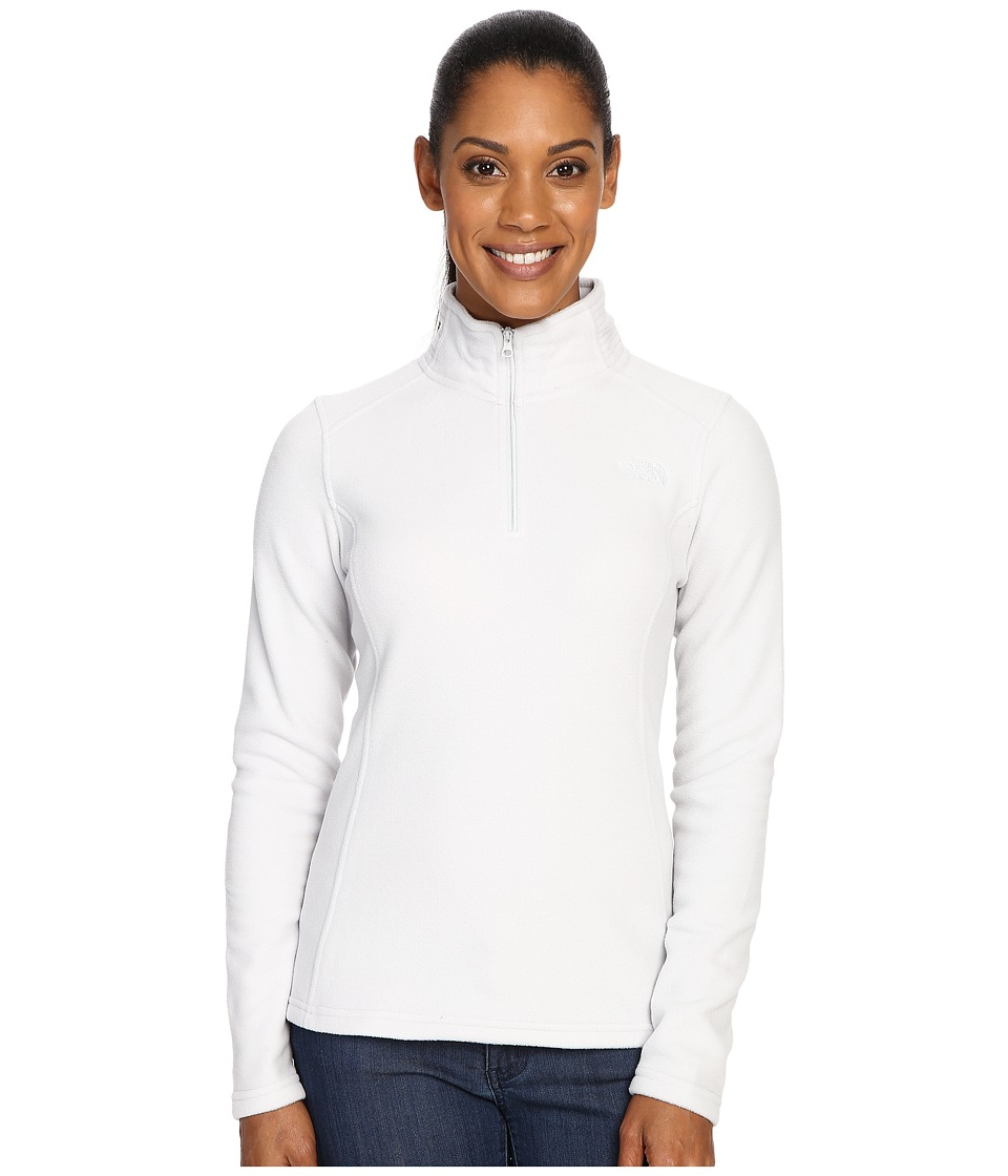 The North Face Glacier 1/4 Zip Fleece Top (Lunar Ice Grey (Prior Season)) Women