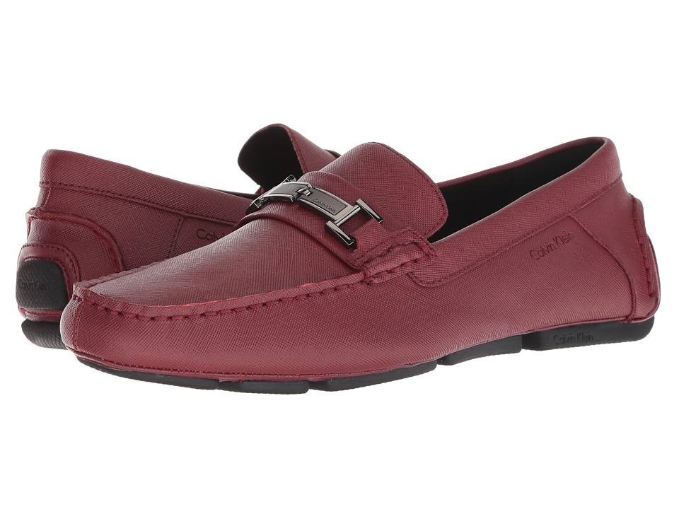Calvin Klein - Magnus (Red Weave Emboss) Mens Shoes