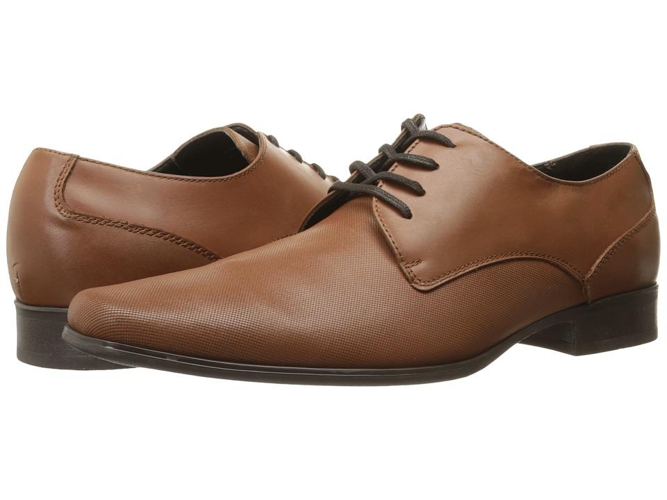 Calvin Klein - Brodie (British Tan Emboss Leather) Men
