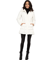Cole Haan - Down Coat with Cinch Bottom and Large Collar
