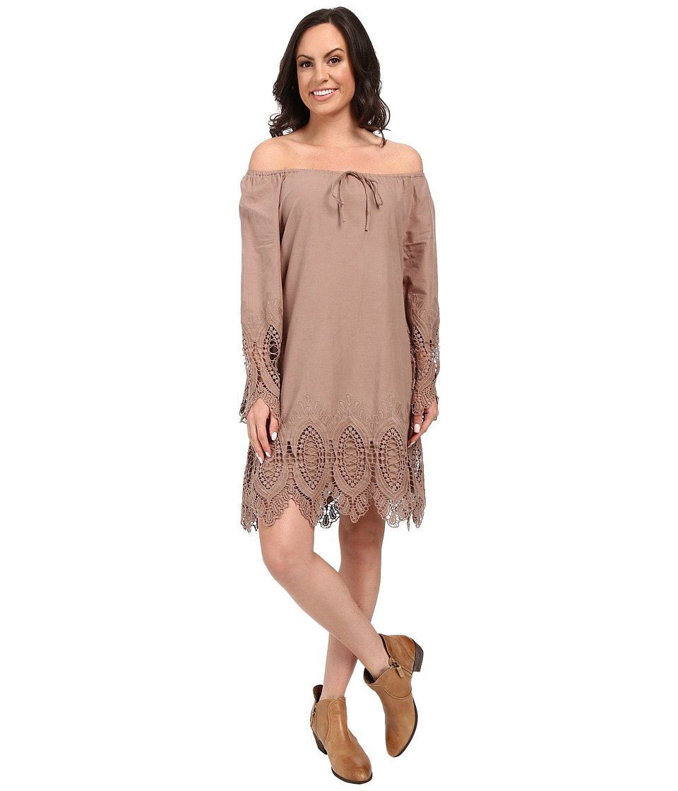 Union of Angels Justine Dress Taupe Womens Dress