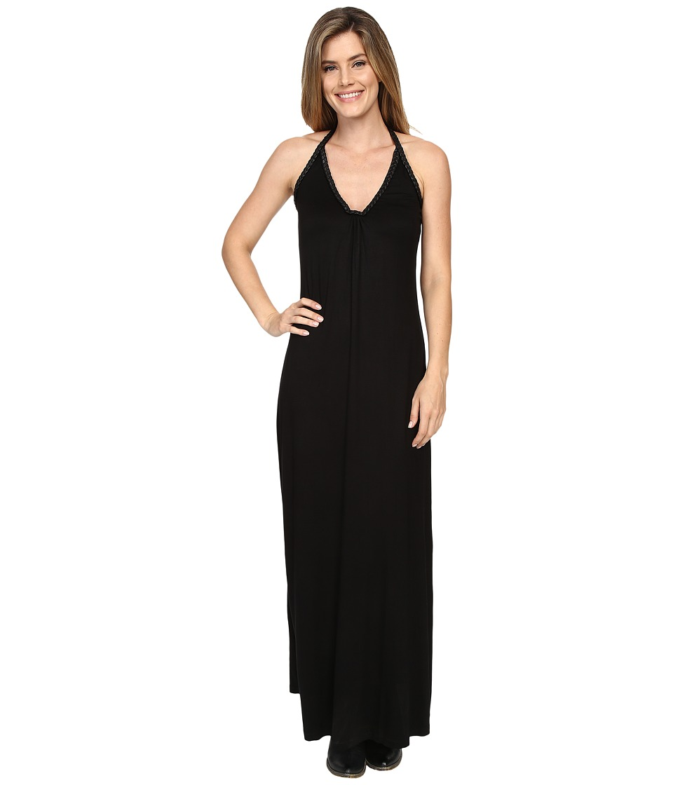 Union of Angels Lilly Maxi Black Womens Dress