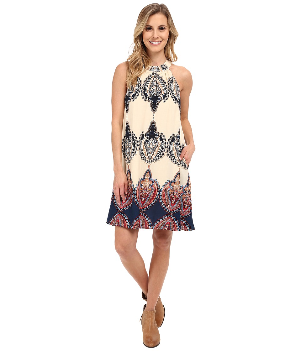 Union of Angels Sibley Dress Navy/Ivory Womens Dress